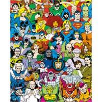 Dc Comics Retro Cast Mini Poster