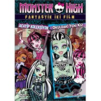 Monster High :Fantastik İki Film (VCD)