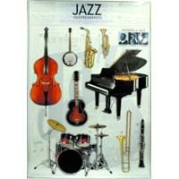 Jazz Çalgıları Poster