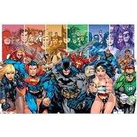 Maxi Poster DC Comics Justice Leage Of America Generation