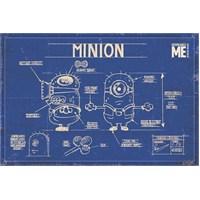 Maxi Poster Despicable Me Minion Blue Print
