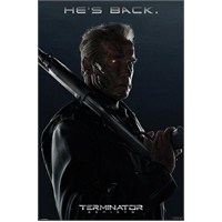 Maxi Poster Terminator Genisys He's Back