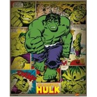 Mini Poster Marvel Comics Incredible Hulk