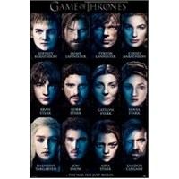Maxi Poster Game Of Thrones Characters