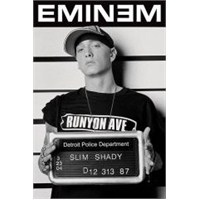 Maxi Poster Eminem Mugshot