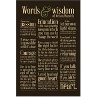 Maxi Poster Words Of Wisdom Nelson Mandela