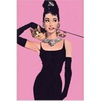 Maxi Poster Audrey Hepburn Pink