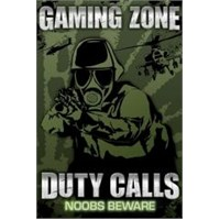 Maxi Poster Gaming Zone Duty Calls