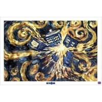 Maxi Poster Doctor Who Exploding Tardis