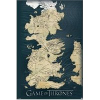 Maxi Poster Game Of Thrones Map