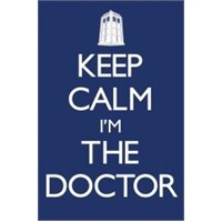 Maxi Poster Doctor Who Keep Calm