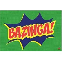 Maxi Poster Big Bang Theory Bazinga Icon
