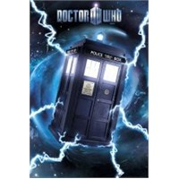 Maxi Poster Doctor Who Tardis Foil
