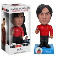 Funko Star Trek Big Bang Theory Raj Wacky Wobbler