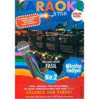 Karaoke Star No:2 Türk Sanat Müziği - Fasıl (Mikrofon Hediyeli)