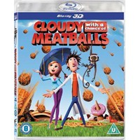 Cloudy With A Chance Of Meatball (Köfte Yağmuru) (3D Blu-Ray Disc)