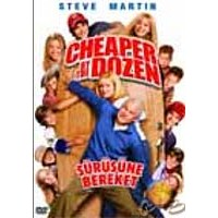 Cheaper By The Dozen (Sürüsüne Bereket) ( DVD )