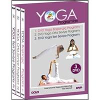 Yoga Programları DVD Seti (3 DVD)
