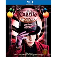 Charlie And The Chocolate Factory (Charlie'nin Çikolata Fabrikası) (Blu-Ray Disc)