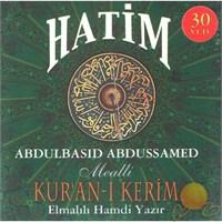Hatim (Kur'anı Kerim Mealli) (Abdulbasid Abdussamed) (30 VCD)
