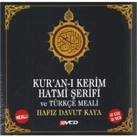 Kuran-ı Kerim Hatmi Şerifi ve Türkçe Meali (Hafız Davut Kaya) (30 VCD)
