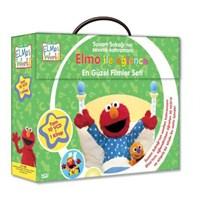 Elmo İle Eğlence: En Güzel Filmler Seti (Tam 10 VCD + 1 Kitap)