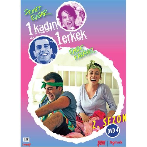 1 Kadın 1 Erkek Sezon 2 DVD 4 (2 Disc)