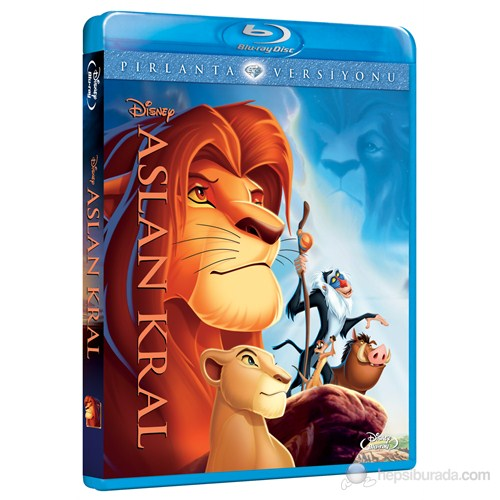 Lion King De (Aslan Kral Pırlanta Versiyonu) (Blu-Ray Disc)