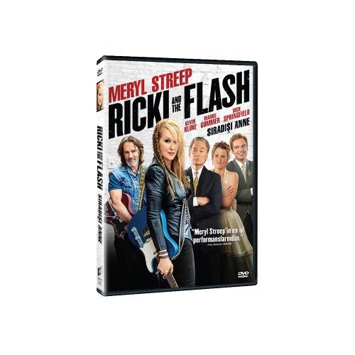 Rickie & The Flash (Sıradışı Anne) (DVD)