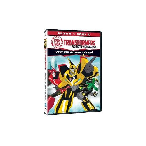 Transformers Robots In Disguise Sezon1 Seri 2 (VCD)