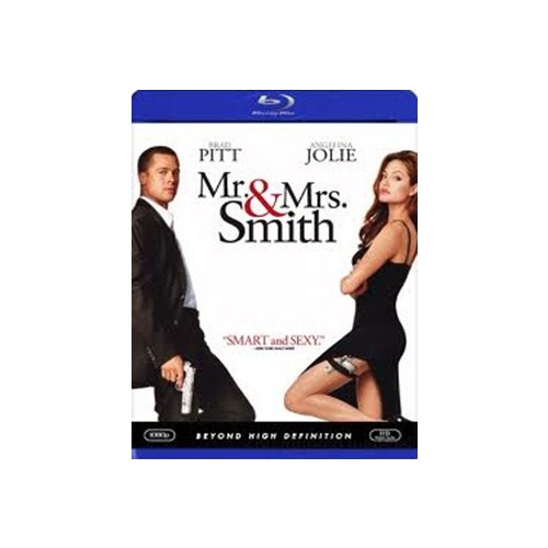 Mr. And Mrs. Smith (Bay ve Bayan Smith) (Blu-Ray Disc)