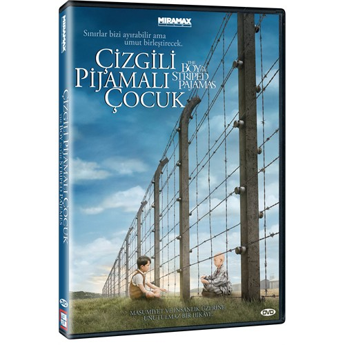 The Boy in the Striped Pajamas (Çizgili Pijamalı Çocuk) (DVD)
