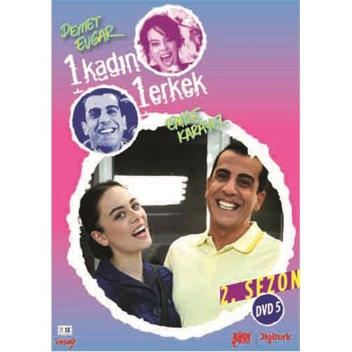 1 Kadın 1 Erkek Sezon 2 DVD 5 (2 Disc)
