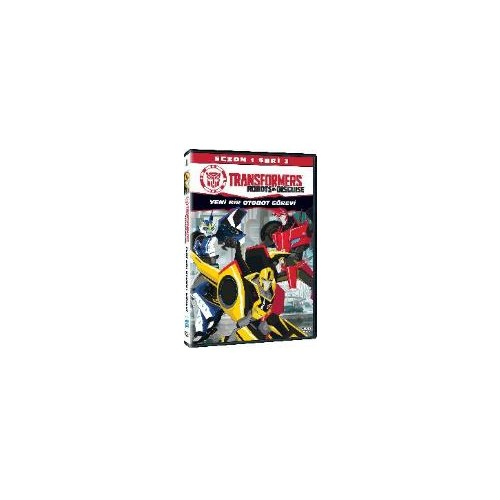 Transformers Robots İn Disguise Sezon 1 Seri 3 (VCD)