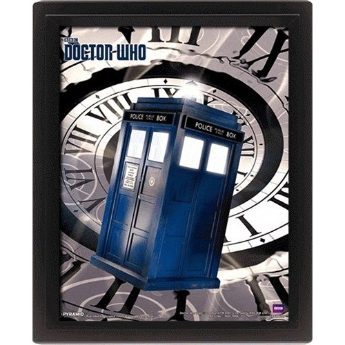 Pyramid International 3 Boyutlu Poster - Doctor Who Tardis Time Spiral