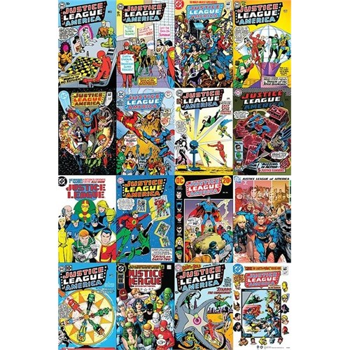 Pyramid International Maxi Poster - Dc Comics Justice League Cover Montage