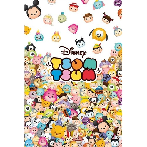Pyramid International Maxi Poster - Disney Tsum Tsum Pile Up