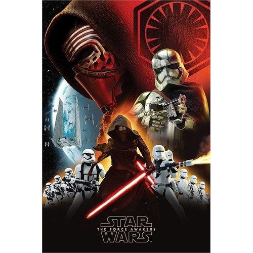 Pyramid International Maxi Poster - Star Wars Episode Vıı First Order