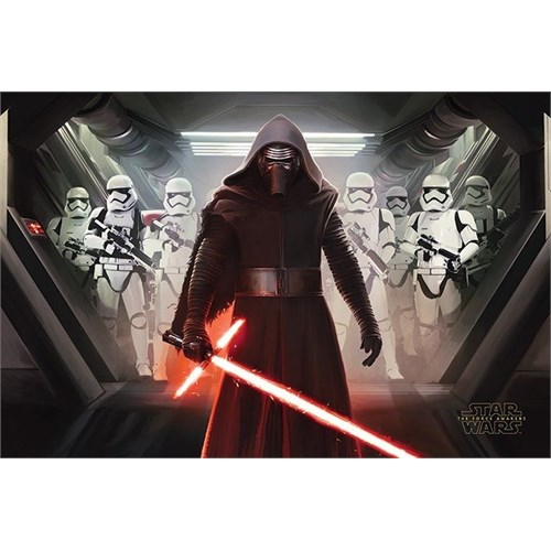 Pyramid International Maxi Poster - Star Wars Episode Vıı Kylo Ren & Stormtroopers