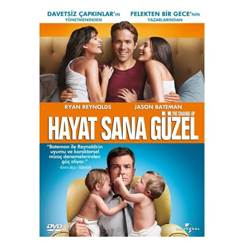 The Change-Up (Hayat Sana Güzel) (Blu-Ray Disc)