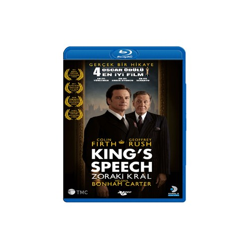 The King's Speech (Zoraki Kral) (Blu-Ray Disc)
