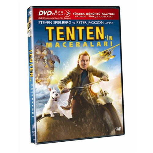 Tenten'in Maceraları (Adventures Of Tıntın) (Bas-Oynat) (DVD)