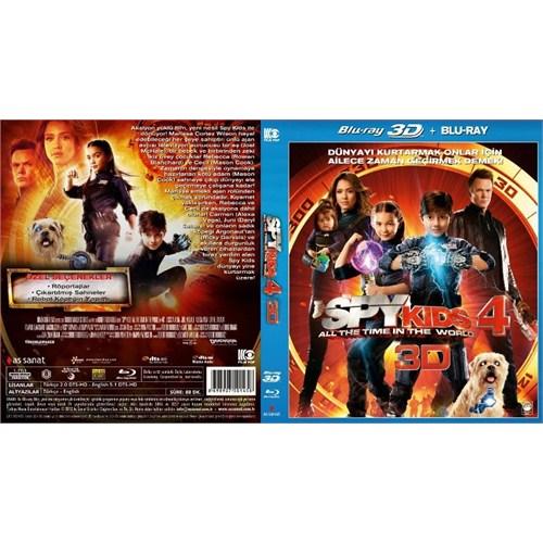 Spy Kids 4 (Çılgın Çocuklar 4) (3D Blu-Ray)