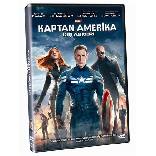 Captain America: The Winter Soldier (Kaptan Amerika: Kış Askeri) (DVD)