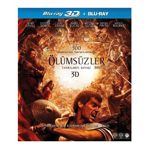 Immortals (Ölümsüzler) (3D BD +DVD (2 Disk))