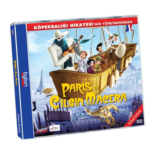 Paris'te Çılgın Macera (Monster In Paris) (VCD)