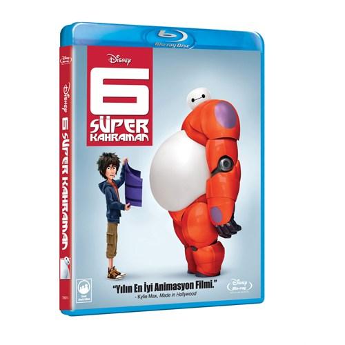 Big Hero 6 (6 Süper Kahraman) (Bd)
