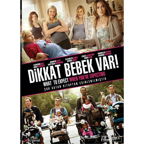 What to Expect When You're Expecting (Dikkat Bebek Var) (DVD)