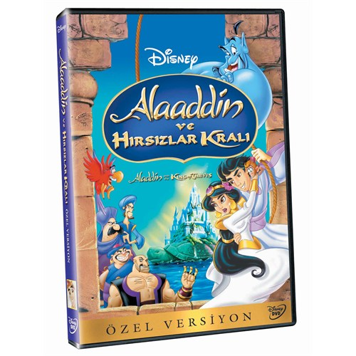 Aladdin And The King Of The Thieves (Aladdin Ve Hırsızlar Kralı) (DVD)