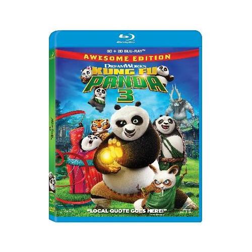 Kungu Fu (Panda 3) (3D + 2D Blu-Ray Disc)